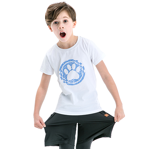 (St.Bonalt)Children's round neck T-shirt (28093)