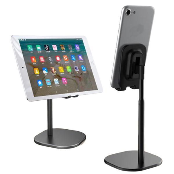 Desktop tablet phone holder lazy stretch black money