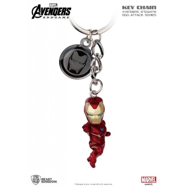 (beast kingdom)Avengers: Endgame Egg Strike Doll Keyring Series Mark 50