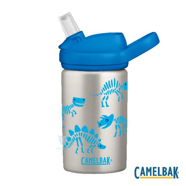 (camelbak)[American CamelBak] CB2305102040-400ml eddy + children's straw single layer stainless steel water bottle dinosaur ruins