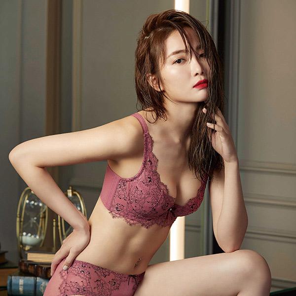 Mandima V V-Line Lingerie BE Cup (Yan Mei Pink)