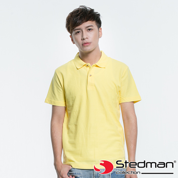 (STEDMAN)[Germany STEDMAN] ST3000 100% cotton casual round collar POLO shirt - male - yellow