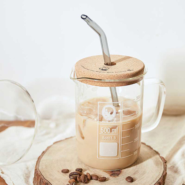 (賽先生科學工廠)Mr. Sai Science Factory | Caffeine Science Beaker (with cork lid)