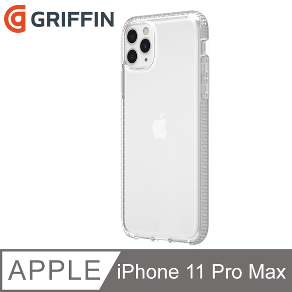 Griffin Survivor Clear iPhone 11 Pro Max transparent shell drop resistance military regulations