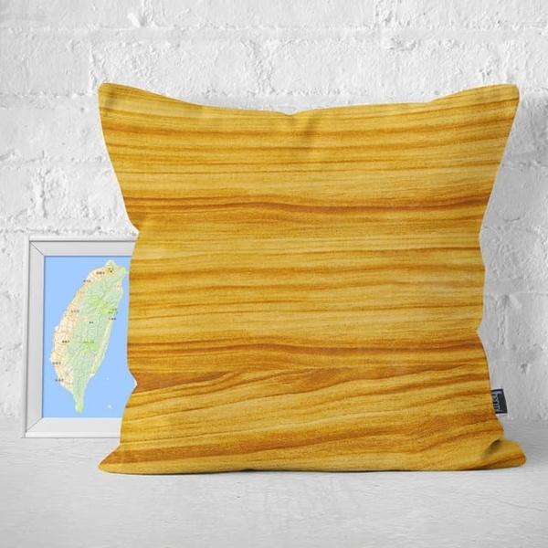 (IHERMI)IHERMI natural wood grain B hug pillowcase 45cm made in Taiwan