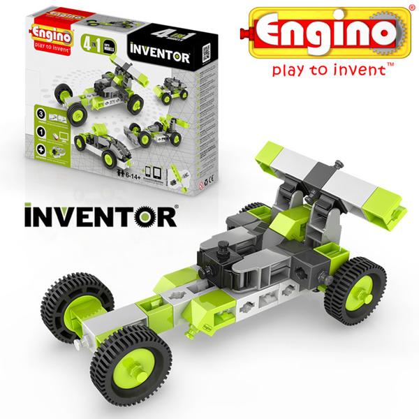 Engino Ansett blocks inventor Series - car four modules