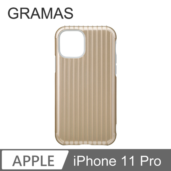 GM iPhone 11 Pro Classic phone shell drop resistance military regulations - Rib (Gold)