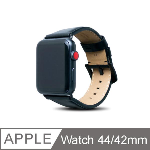 (Alto)Alto Apple Watch Leather Strap 44/42mm - Raven Black