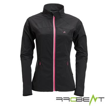 OFFBEAT Women excited thin micro heavy sense of super-elastic anti-UV casual jacket - Graphite Black