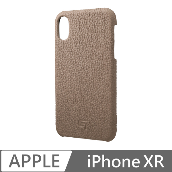Gramas iPhone XR handmade leather back cover Germany - (brown)