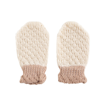 (Hoppetta)Organic cotton gloves newborn Hoppetta