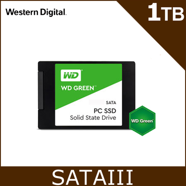 (wd)WD SSD 1TB 2.5吋 Solid State Drive (Green Label)