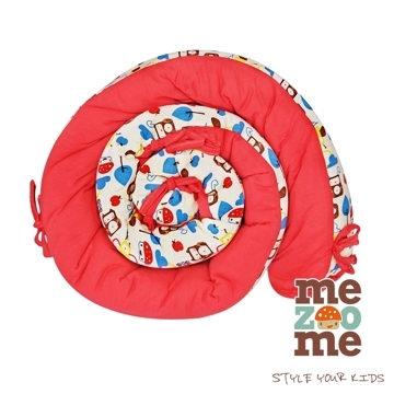 (Mezoome)[Mezoome]Israel organic cotton snake circumference / bed circumference / breastfeeding pillow (peach red)