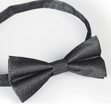 [Stratford] Liangsi upscale groom wedding tie bow tie correction correction (Silver)