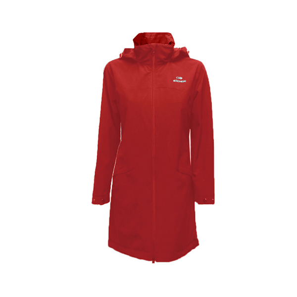 (eider)France [EiDER] Women's Multifunctional Waterproof and Breathable Hooded Jacket / 9EIV2911 Passionate Red