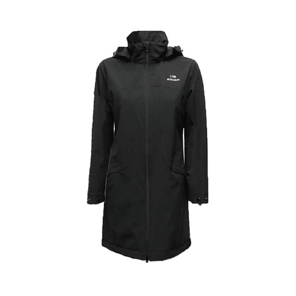 (eider)France [EiDER] Women's Multifunctional Waterproof Breathable Hooded Jacket / 9EIV2911 Classic Black