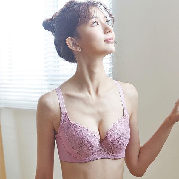 [Lei Daisi hope Xi] B-F cup lingerie (plum powder)