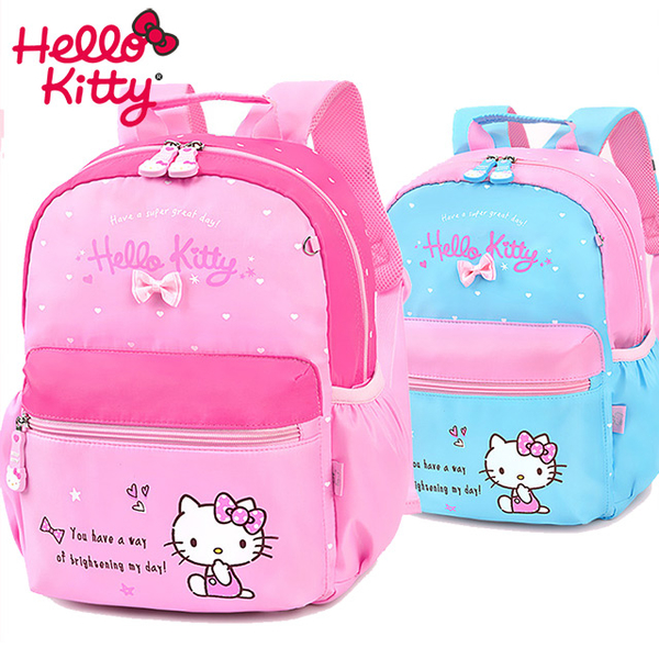 Sanrio HELLO KITTY matching color kindergarten school backpack (A4 can be put)