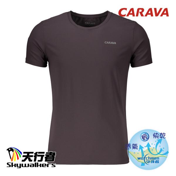 "(Skywalkers)CARAVA ""Men's Air-Cooled Cool T"" (Dark Grey Blue)"