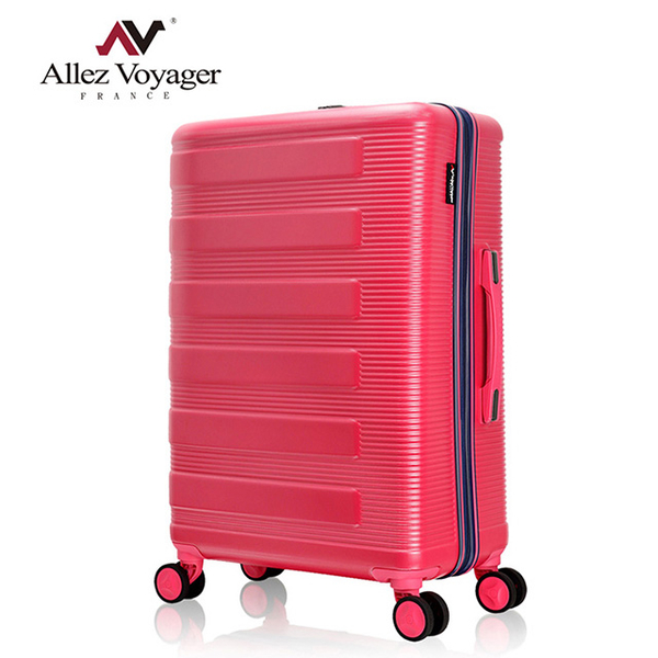 (allez voyager)Olivier Pavilion 20-inch Suitcase PC Hard Case Suitcase Board Case Symphony Piano Series (Rose Red)