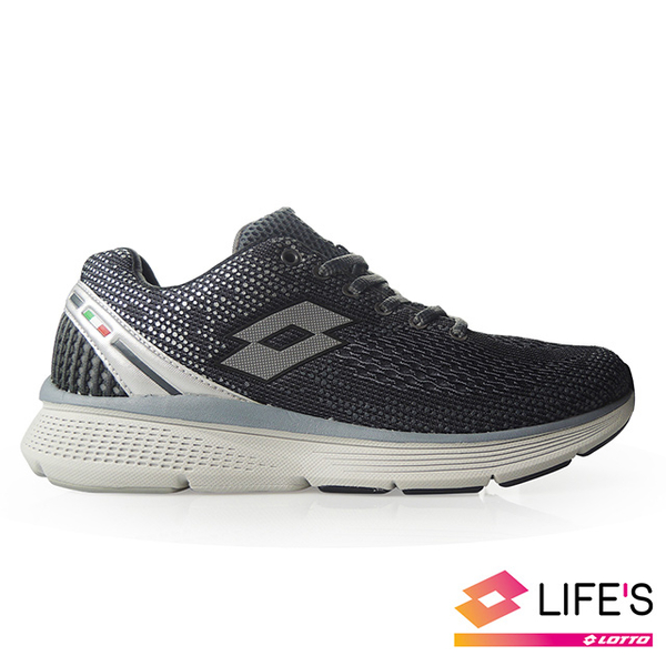 (lotto)[LOTTO Italy] Male X move shock-absorbing running shoes (grey)