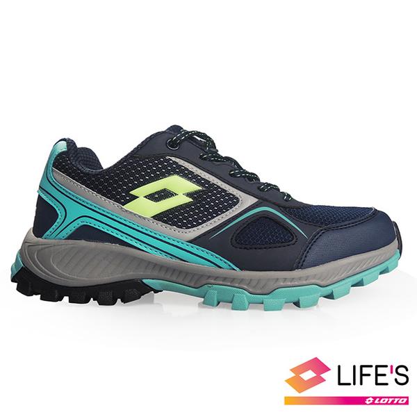(lotto)[LOTTO Italy] Women's Cross Run Running Shoes (Dark Blue)