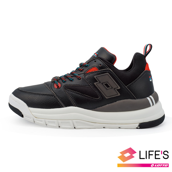 (lotto)[LOTTO Italy] Women's ATHLETICA SIRIUS Italian Retro Daddy Shoes (Black)