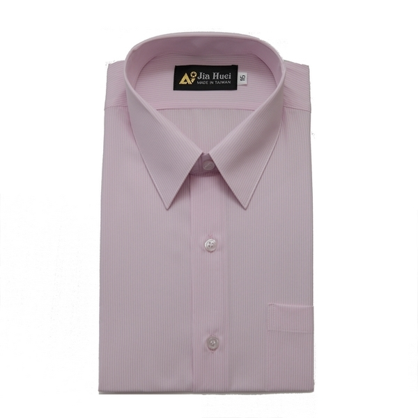 (JIA HUEI)JIA HUEI Long Sleeve Soft Collar Moisture Sweat-Free Wrinkle Shirt 312 Stripe Pink [Made in Taiwan]