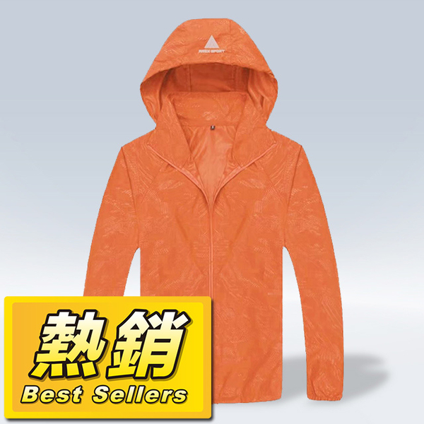 (AREX SPORT)AREXSPORT Extremely lightweight splash-proof storage function sports windbreaker