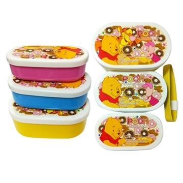 Disney Pooh Bear Modeling Three-in-One Lunch Box