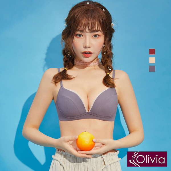 (olivia)[Olivia] French style simple modal cotton-free underwear without gray