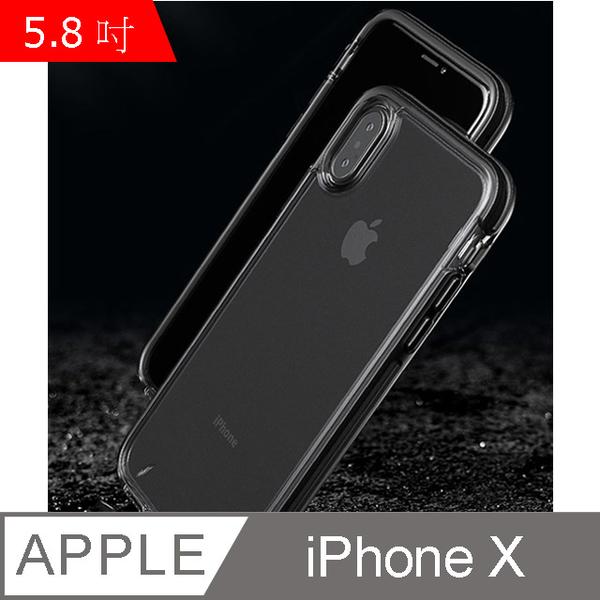 ispider White Plus Series iPhone X glossy transparent TPU DROP slim phone case