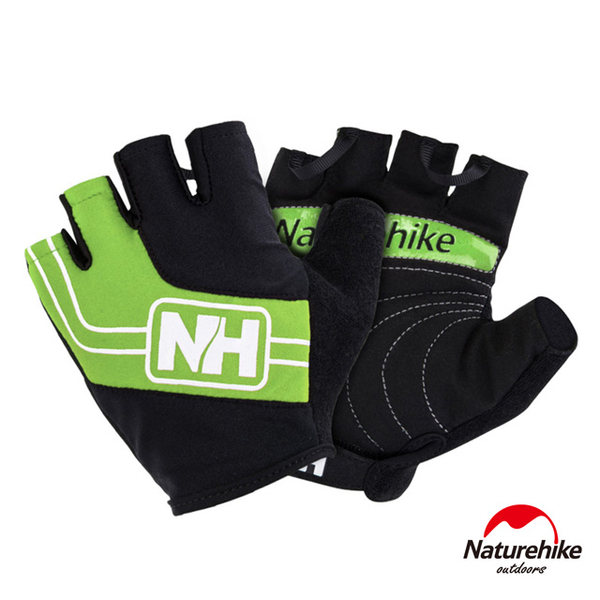 Naturehike off outdoor riding ring abradable green half mittens