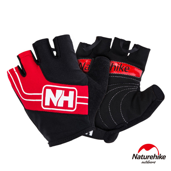 Naturehike Overlinked abradable outdoor red riding half mittens