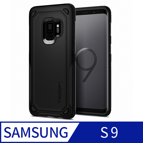 (Spigen)Spigen Galaxy S9 Case Hybrid Armor - Encased Screen Protector