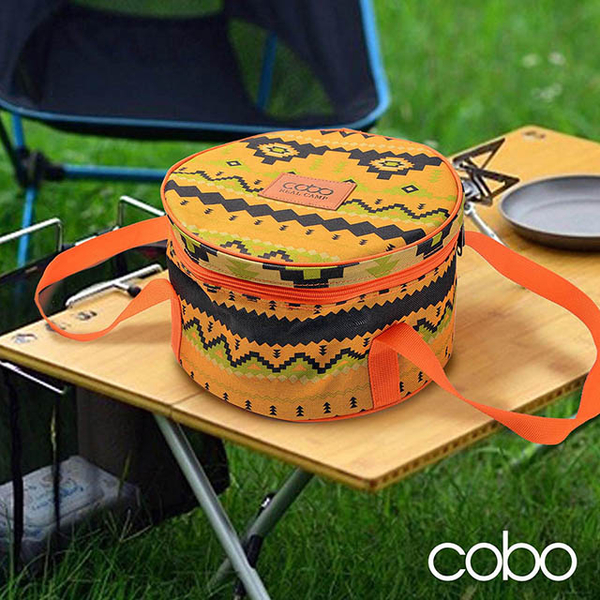 (cobo)[Korea COBO] Multifunctional thickening storage bag / cookware bag / light bar bag / power line bag / camping / picnic