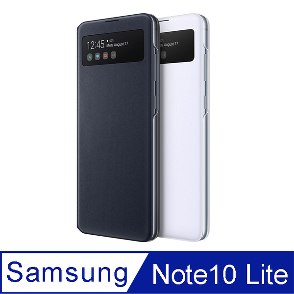 (samsung)SAMSUNG Galaxy Note10 Lite S View Original Perspective Sensor Case (Taiwan Company Product)