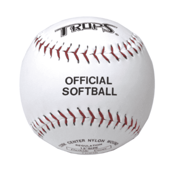 (SUCCESS)TROPS Cork Hard Stitch Softball (for competition) Skin Color (2 pcs)