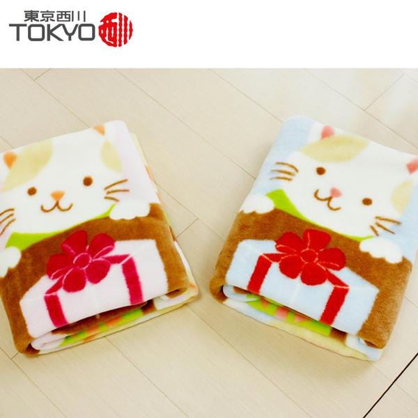 (東京西川)[Nishikawa, Tokyo, Japan] Animal birthday party blanket