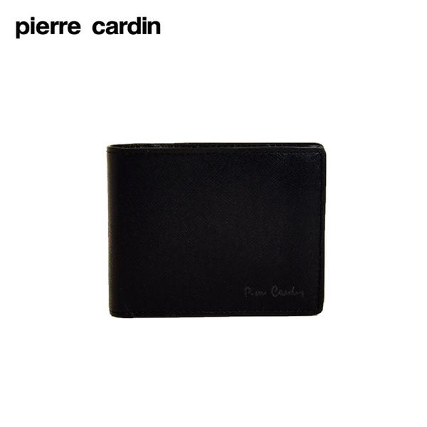 (皮爾卡登)pierre cardin Metropolitan Coin Purse Short Clip-Black