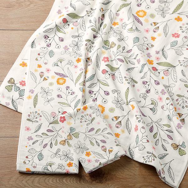 (日本丸真)Japan Maru Imabari Cotton Flower Facial Towel-Beige