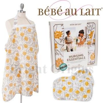 (Bebe Au Lait)US Bebe Au Lait gift set - Soleil Man Ju subsection (+2 burping towel lactation towel)