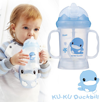 (Gennies)KU.KU cool 咕 duck magic drinking cup - blue (5462)