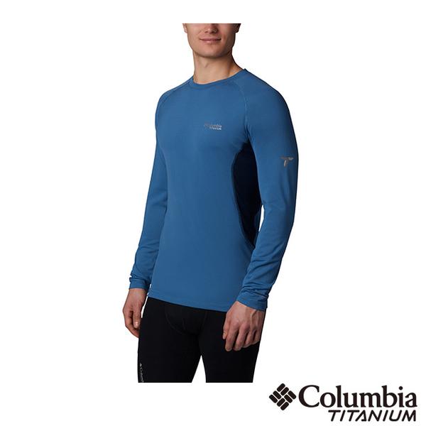 (Columbia)Columbia Columbia Men's Titanium Omni-HEAT3D Aluminum Dot Warm Quick-Sleeve Long-Sleeve Top-Dark Blue UAO05050IB
