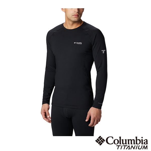 (Columbia)Columbia Columbia Men's Titanium Omni-HEAT3D Aluminum Dot Warm Quick-Sleeve Long Sleeve Top UAO05050BK