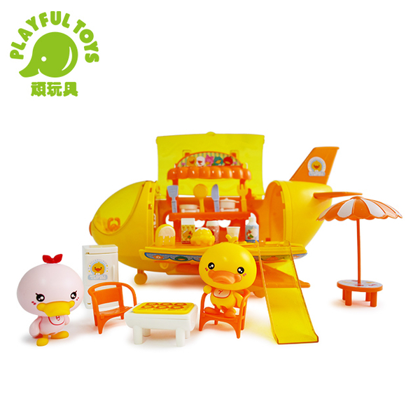 Fun duckling sound and light plane 202B