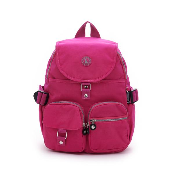 (冰山袋鼠)BSDS Iceberg Kangaroo-Venice Holiday-Classic Waterproof Sleeve Backpack-Rose Red [0015P]