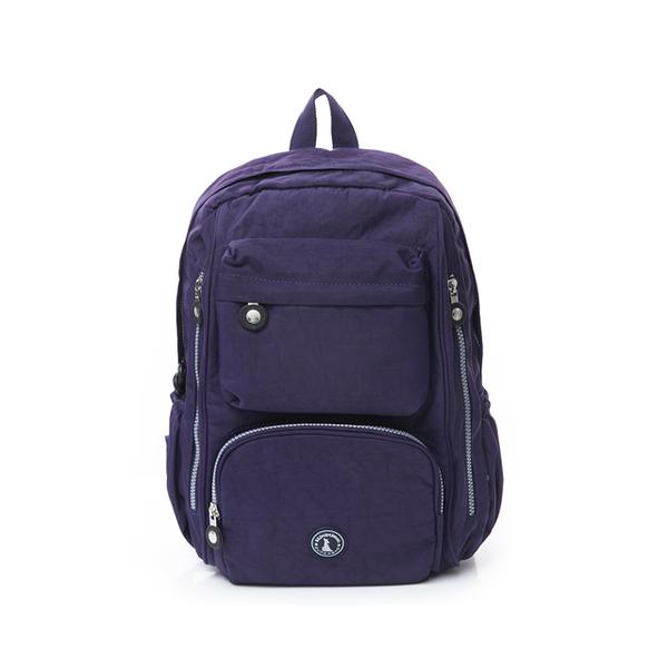 (冰山袋鼠)BSDS Iceberg Kangaroo-Venice Holiday-Waterproof Large Capacity Backpack With Insert-Deep Sea Blue [Z060B]