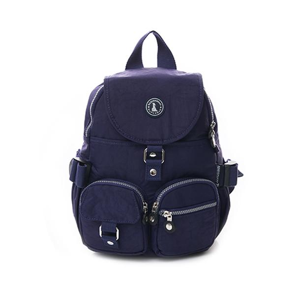 (冰山袋鼠)BSDS Iceberg Kangaroo-Venice Holiday-Classic Waterproof Sleeve Backpack-Deep Sea Blue [0015B]