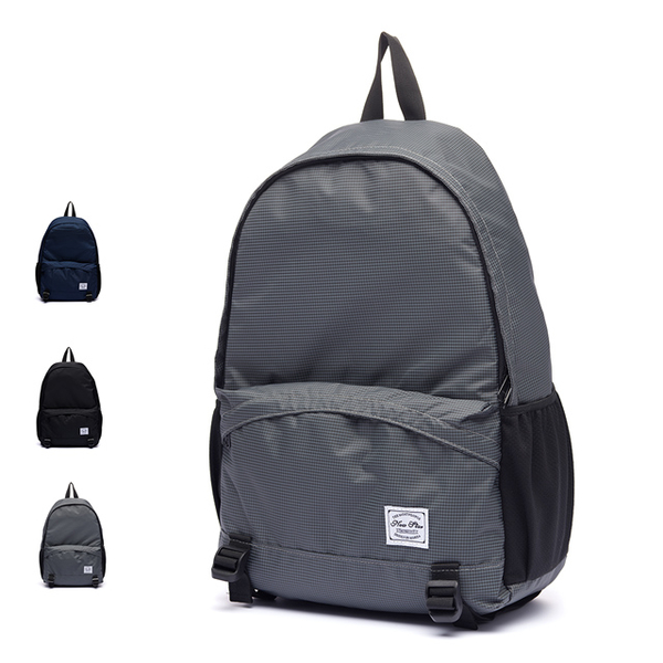 (New Star) Simple Ultra Lightweight Plaid Casual Waterproof Pocket Backpack